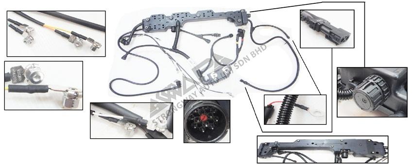 printed circuit board  1622465  nl12 truck  volvo genuine