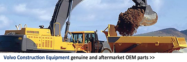 Volvo Construction Equipment genuine and aftermarket OEM parts